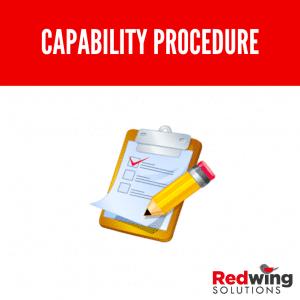 Capability Procedure
