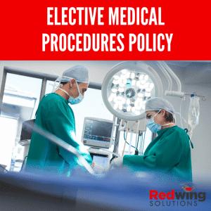 Elective medical procedures
