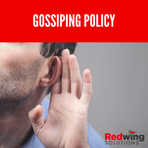 Gossiping policy