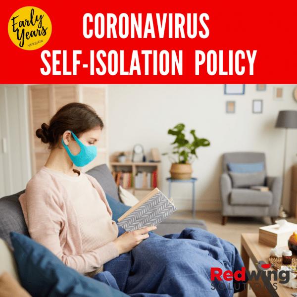 Coronavirus Self Isolation Policy