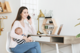 How much notice does a Nursery Manager give who is on maternity leave?