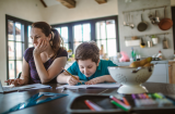 How do you address staff absence due to childcare?